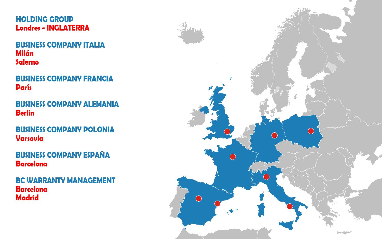 MappaEuropaES